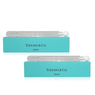 Tiffany & Co.蒂芬妮 Sheer 同名晶淬女性淡香水(4mlx2入) 迷你小香
