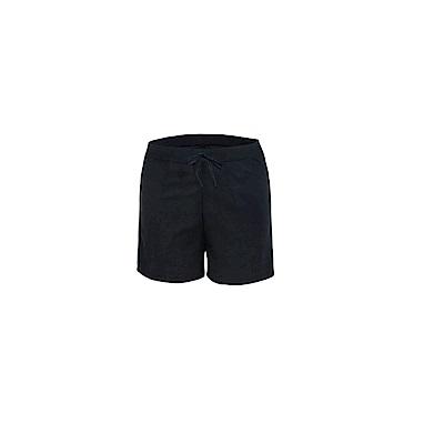 Biki比基尼妮泳衣  素面男泳褲五分褲(黑M-XL)
