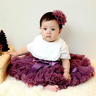 日安朵朵 女嬰童雪紡蓬蓬裙 - 謎樣魔女