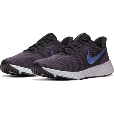 NIKE 運動鞋 輕量 舒適 慢跑鞋 男鞋 黑 BQ3204009 REVOLUTION 5