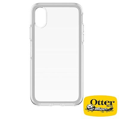OtterBox iPhoneX炫彩幾何透明保護殼-經典晶透