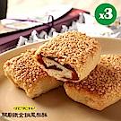 鐵金鋼鳳梨酥 燒餅鳳梨酥禮盒x3盒(10入/盒,提袋)