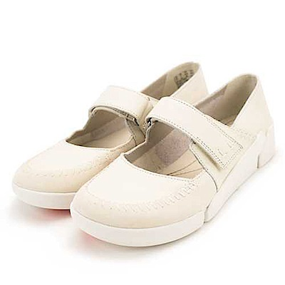 Clarks Tri Amanda 女休閒鞋 米白