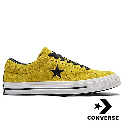 CONVERSE ONE STAR 男女休閒鞋 芥末黃