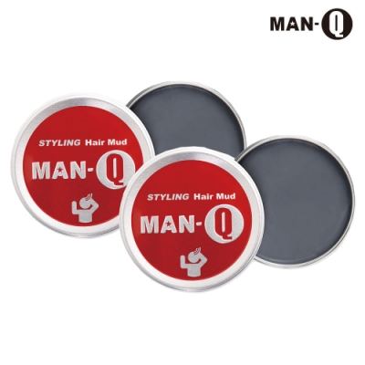 MAN-Q 強力塑型髮泥x2入(60g)