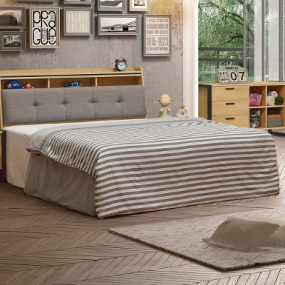 H&D 橡木6尺床底