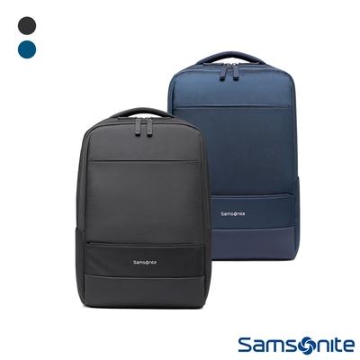 Samsonite新秀麗 CAPER防潑耐磨商務大容量筆電後背包 14