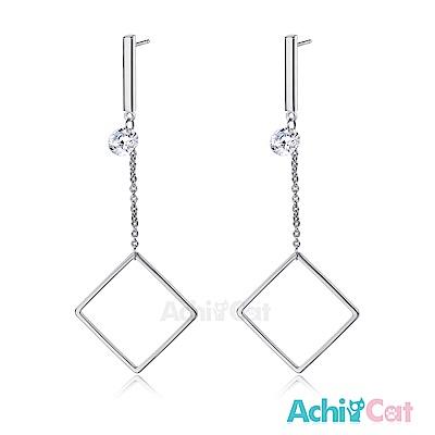 AchiCat 耳環耳針式 時尚女神