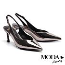 高跟鞋 MODA Luxury 個性美型素面尖頭高跟鞋-古銅