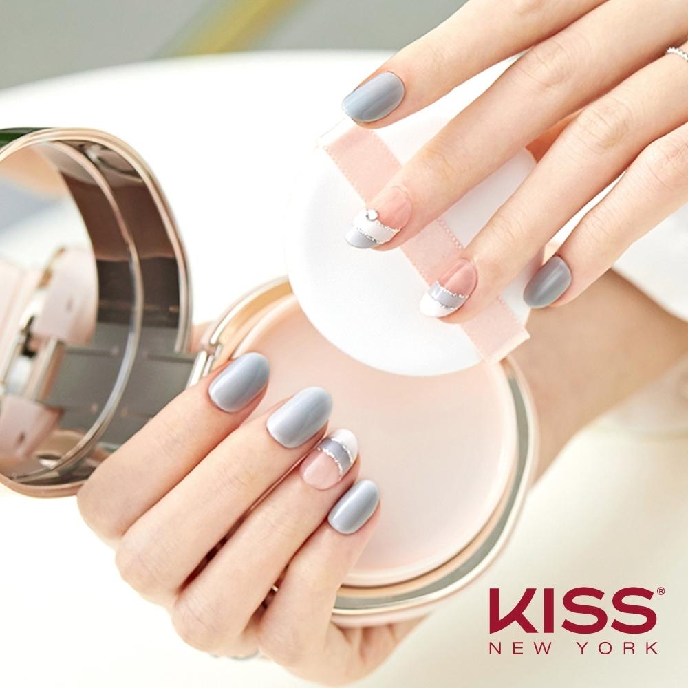 KISS New York-Press&Go頂級光療指甲貼片-暹羅之戀(KPN07K)