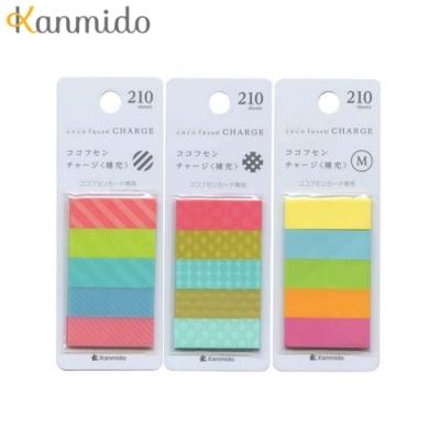 日本Kanmido卡片標籤貼補充包 CF-5 系列