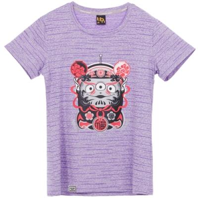 UDOU Bootleg三眼怪短袖T恤(紫)