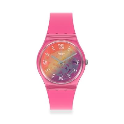 Swatch Gent 原創系列 ORANGE DISCO FEVER 粉色狂熱(34mm)