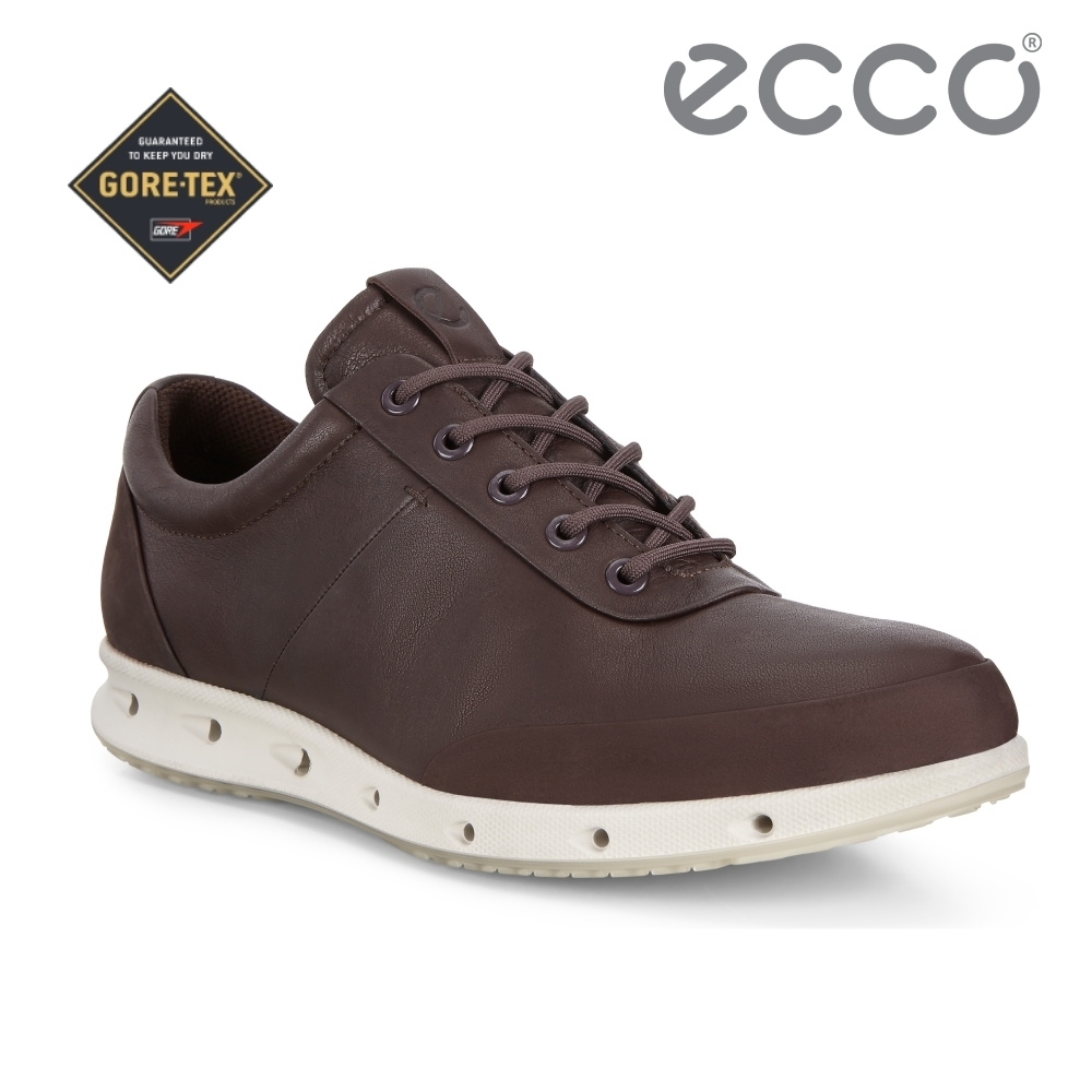 ECCO COOL M 360度環繞防水休閒鞋 男-咖啡色