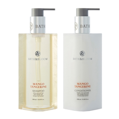 Bath & Bloom 芒果柑橘香氛洗潤髮組