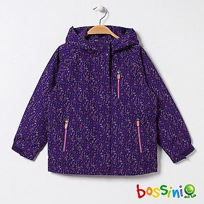 bossini女童-多功能百搭外套02深紫