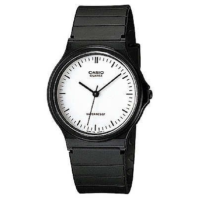CASIO 超輕薄感數字錶(MQ-24-7E)-白面丁字