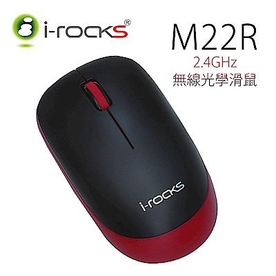 【2入促銷】i-Rocks M22無線光學滑鼠