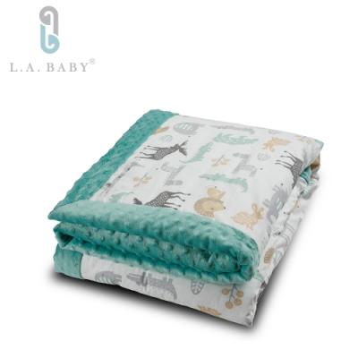 L.A. Baby     高級保暖樂豆毯 暖柔(110 x 140 cm)