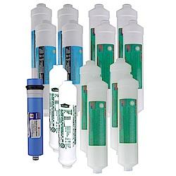怡康飲水機KT型1年份含RO濾心15支組
