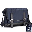 74盎司 Presence 雙帶設計側背包[G-1046]藍