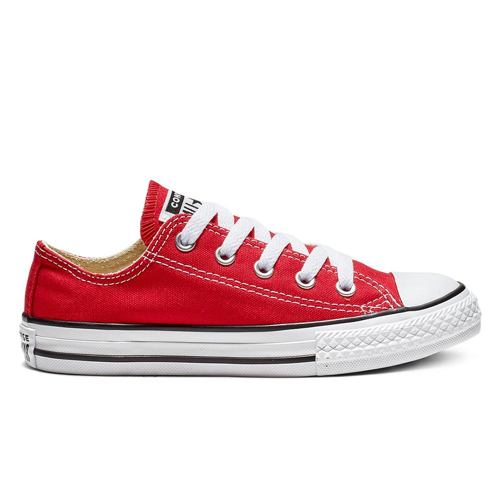 CONVERSE 經典款 基本款 紅色 中大童鞋