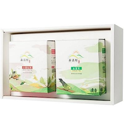 森活原-阿里山高山茶禮盒 - 原片茶包(15入X2盒)