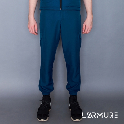 L ARMURE 男裝 Ultra-Light 多口袋 機能工作褲 湛藍色