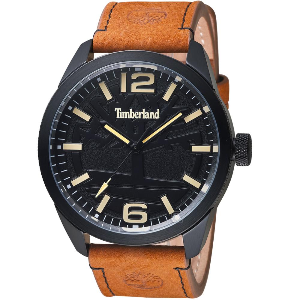 Timberland叢林之心時尚腕錶(TBL.15313JSB/02)-黑