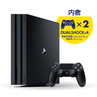 PS4-Pro with Second 控制器同捆組