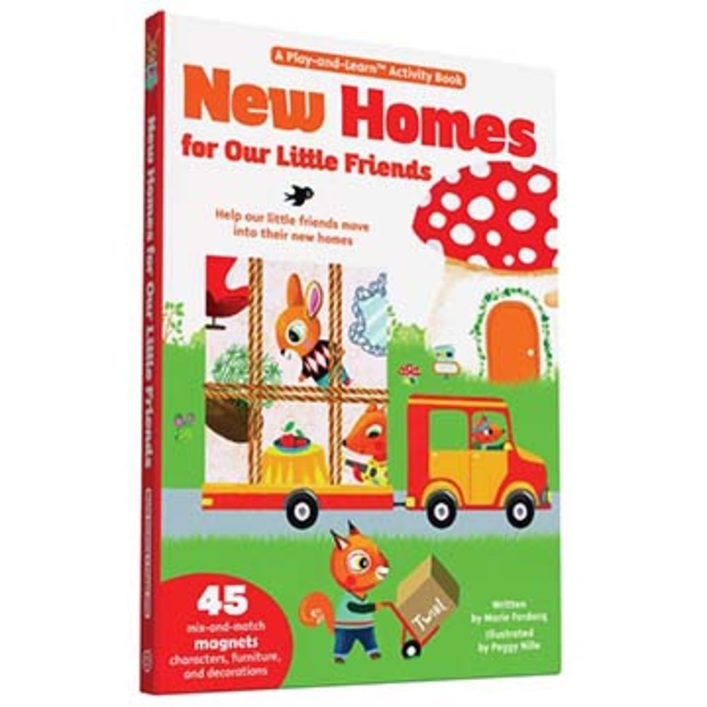 New Homes For Our Little Friends 搬新家新奇操作精裝磁鐵書