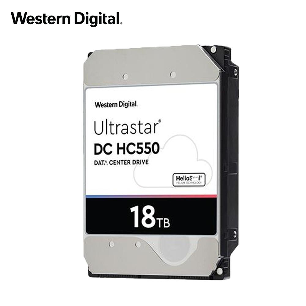 WD Ultrastar DC HC550 18TB 3.5吋 企業級硬碟(WUH721818ALE6L4)