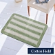 棉花田 華爾特 純棉提花踏墊-綠色(40x60cm) product thumbnail 1
