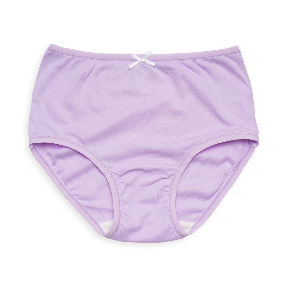 anny pepe 兒童內褲 天絲棉女童三角褲-粉紫