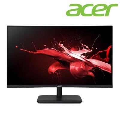 Acer ED270U P 27型1500R曲面電競螢幕 2K高解析 1ms 165Hz 內建喇叭