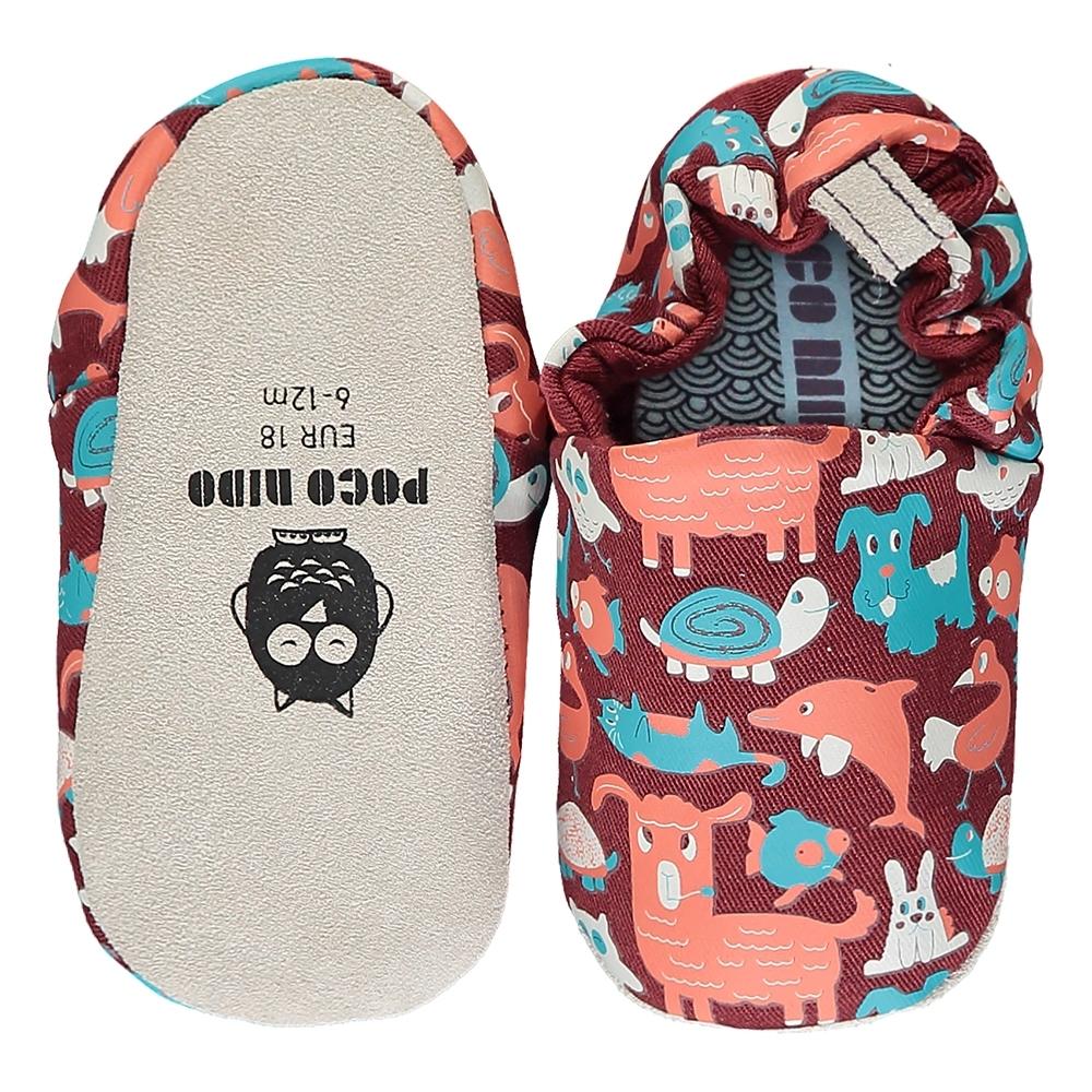 英國 POCONIDO 手工嬰兒鞋 (寵物大觀園)