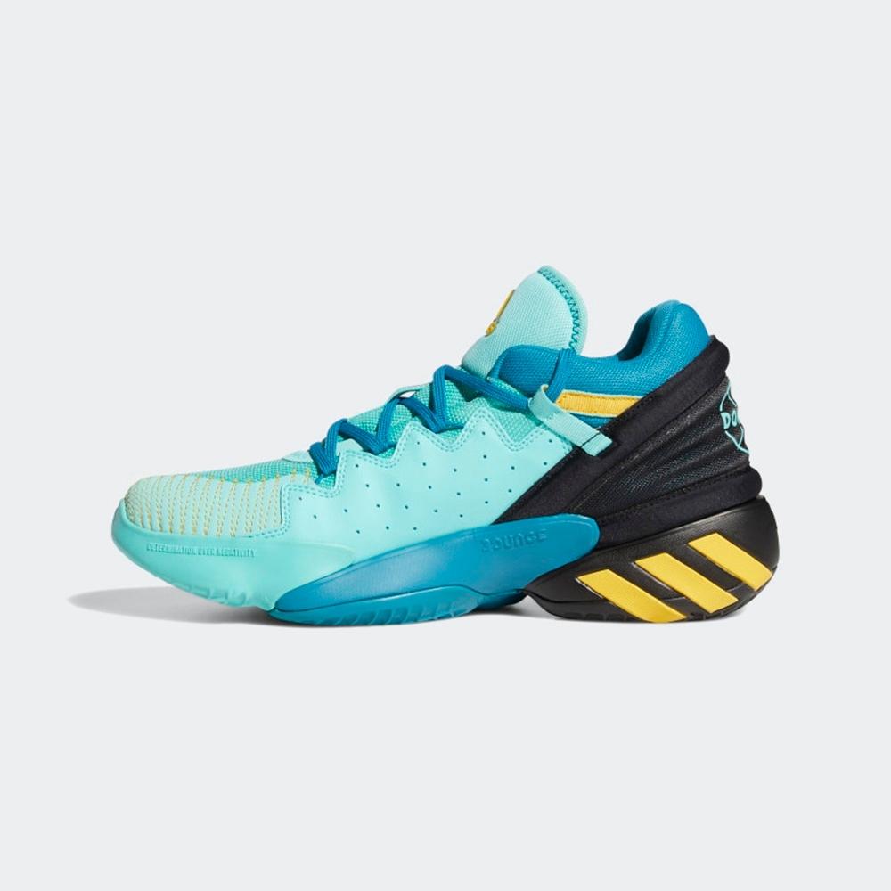 ADIDAS D.O.N. Issue 2 GCA Avatar 男籃球鞋-藍綠-FZ4408
