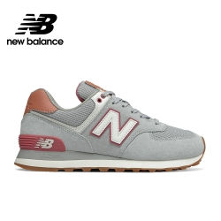 【New Balance】 復古鞋_女性_灰粉紅_WL574BCZ-B楦