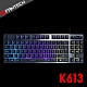 FANTECH K613 鋁合金面板87鍵多彩燈效電競鍵盤 product thumbnail 2