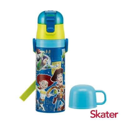 Skater 不鏽鋼2WAY水壺-玩具總動員-藍