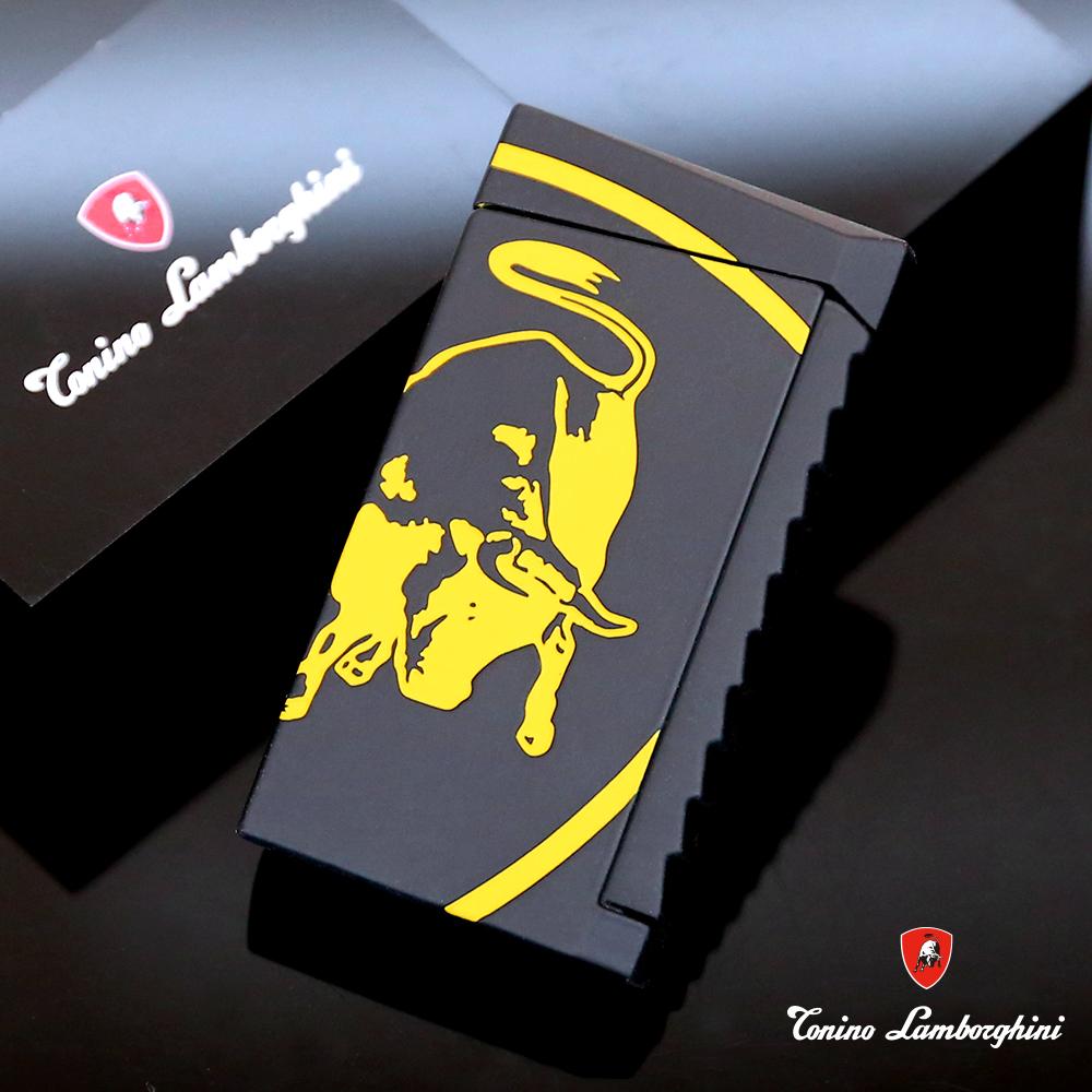 藍寶堅尼Tonino Lamborghini IL TORO LIGHTER打火機(黑黃)