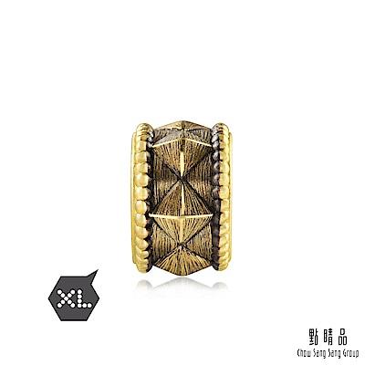點睛品 Charme XL 酷黑系列 狂野 黃金串珠