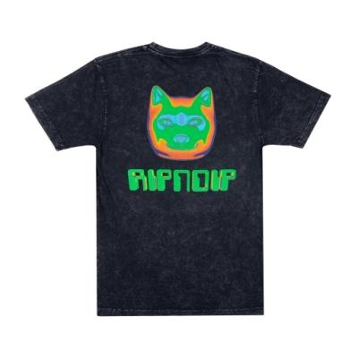 RIPNDIP THERMAL NERMAL TEE 中指貓 短袖T恤