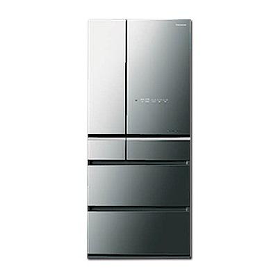 Panasonic國際牌 600L 1級變頻6門電冰箱 NR-F604HX-X1 鏡面面板