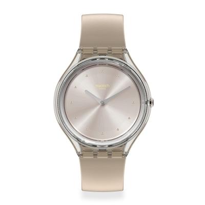 Swatch SKIN超薄系列手錶 SKIN CLOUD 超薄-天空灰-36.8mm