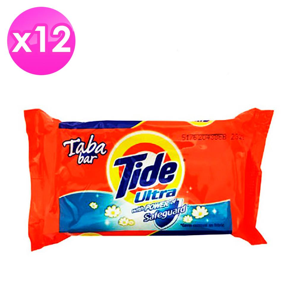 美國Tide 洗衣皂-藍色漂白(130g)-12入組