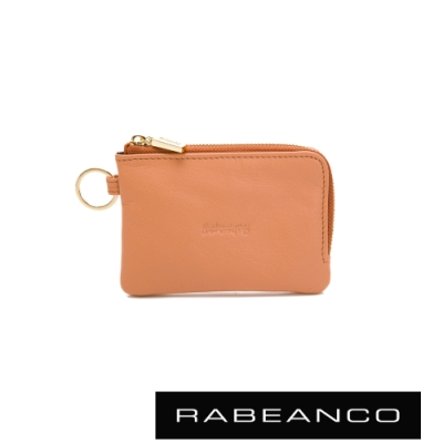 RABEANCO 迷時尚系列鑰匙零錢包 膚色