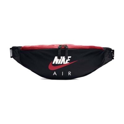 Nike 腰包 Heritage Hip Pack 男女款 NSW 運動休斜 斜背 外出 輕便 小包 黑 紅 CW9263011