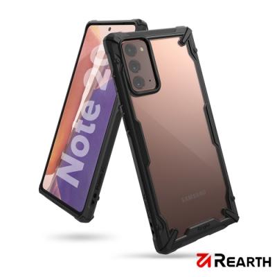 Rearth 三星 Galaxy Note 20 (Ringke Fusion X) 高質感保護殼(黑)