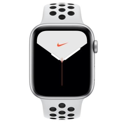 [無卡分期-12期]Apple Watch Nike S5(GPS+網路)44mm銀鋁+白